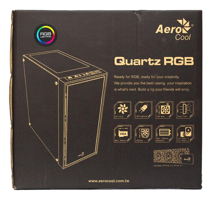 Aerocool Quartz RGB упаковка