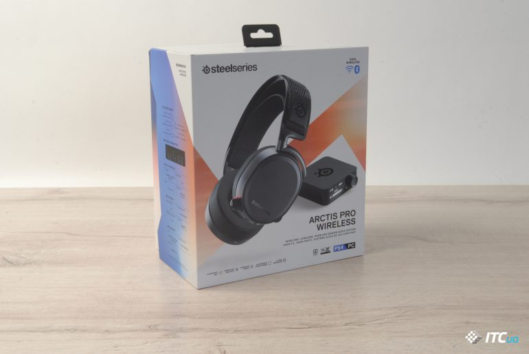SteelSeries Arctis Pro Wireless упаковка