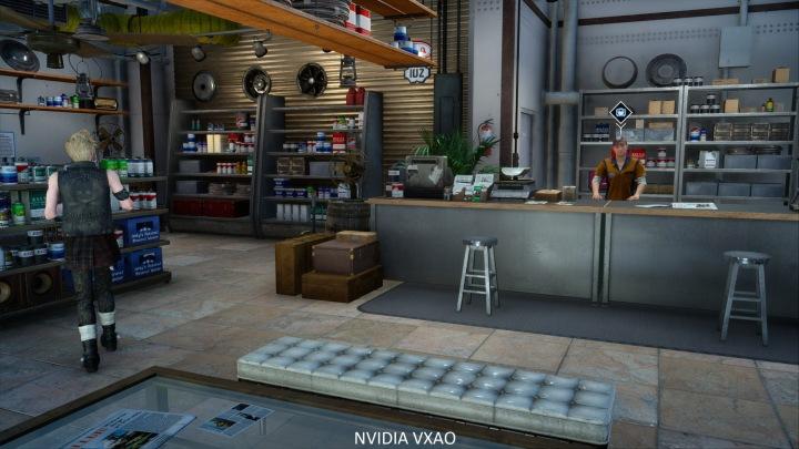 Тест NVIDIA VXAO on