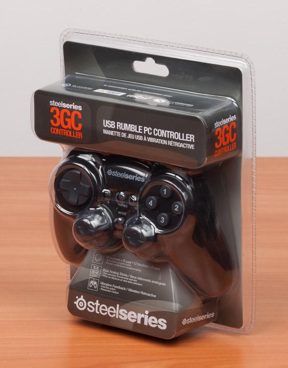 SteelSeries 3GC упаковка