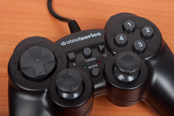 SteelSeries 3GC кнопки 1,2,3,4, крестовина и стики