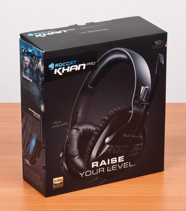 Roccat Khan Pro упаковка