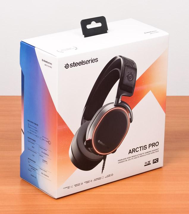 SteelSeries Arctis Pro упаковка