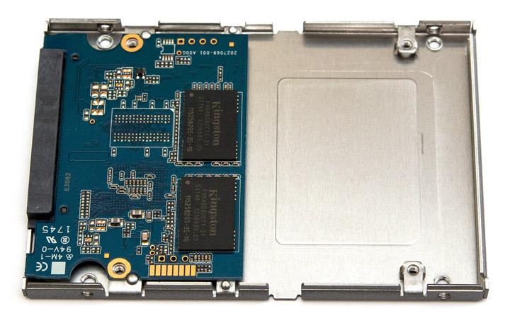 Kingston SSD UV500 вид внутри