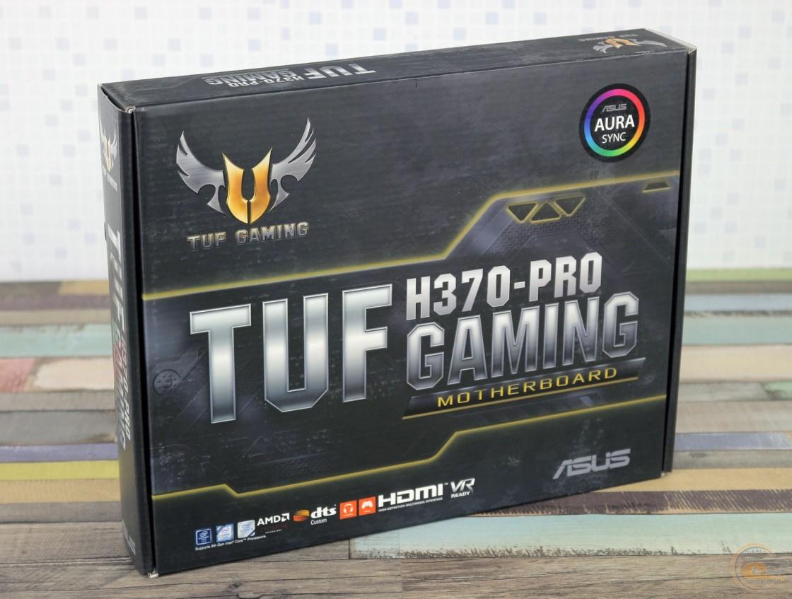ASUS TUF H370-PRO GAMING упаковка