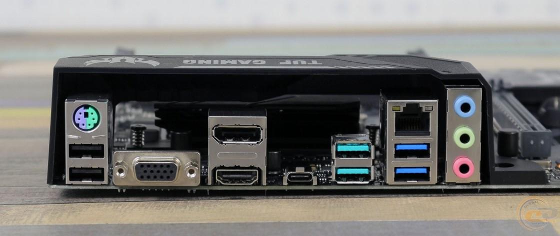 ASUS TUF H370-PRO GAMING интерфейсная панель