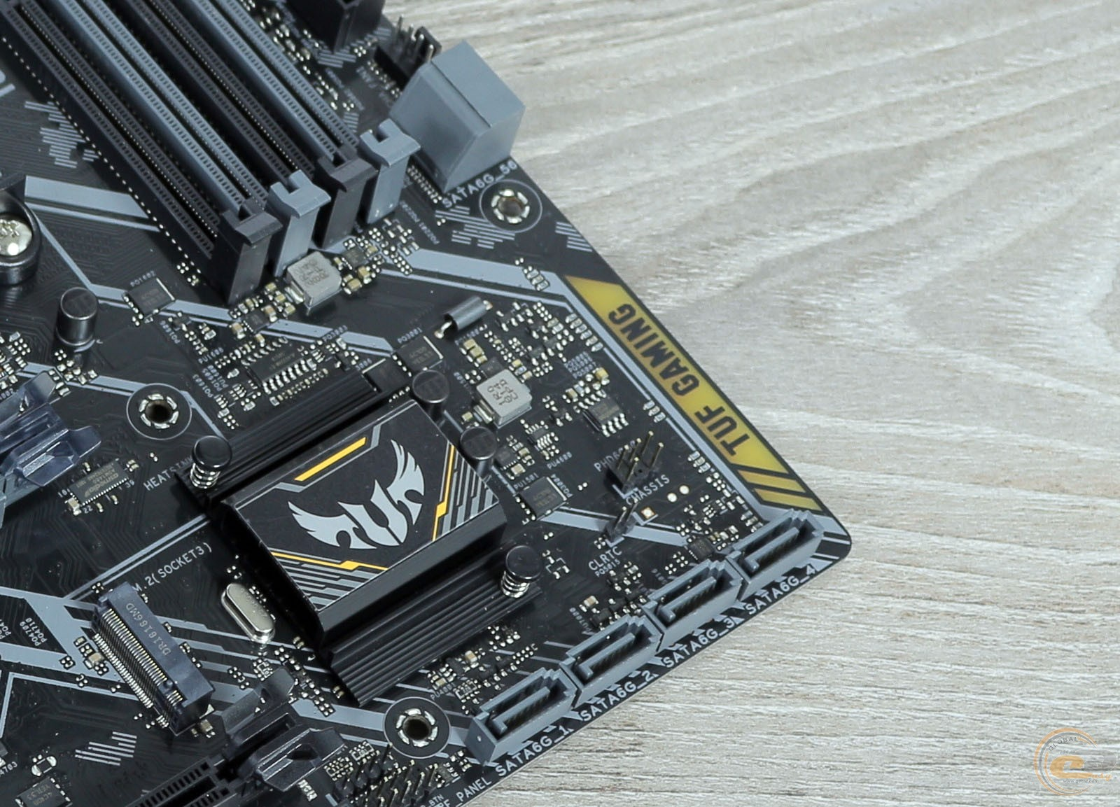 ASUS TUF B350M-PLUS GAMING разьемы sata