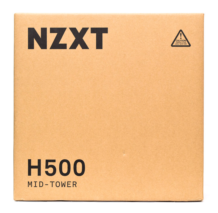 NZXT H500 упаковка
