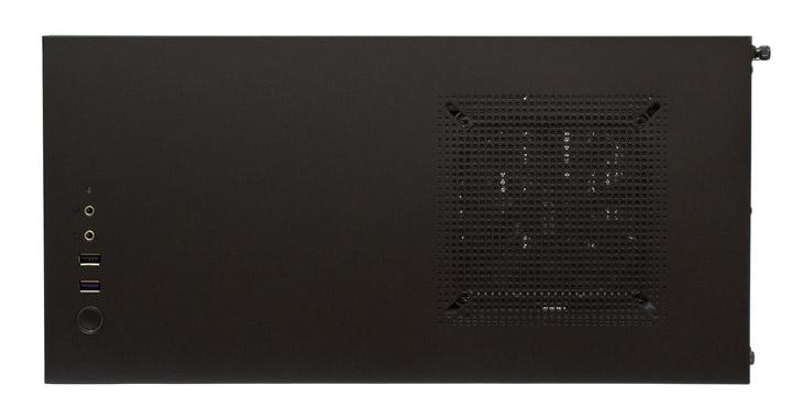 NZXT H500 вид сверху