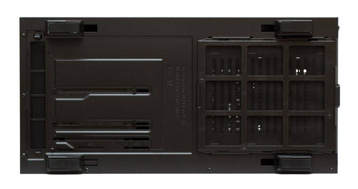 NZXT H500 дно корпуса