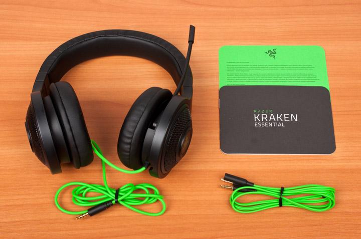 Razer Kraken Essential комплектация