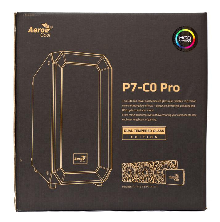 Aerocool P7-C0 Pro упаковка