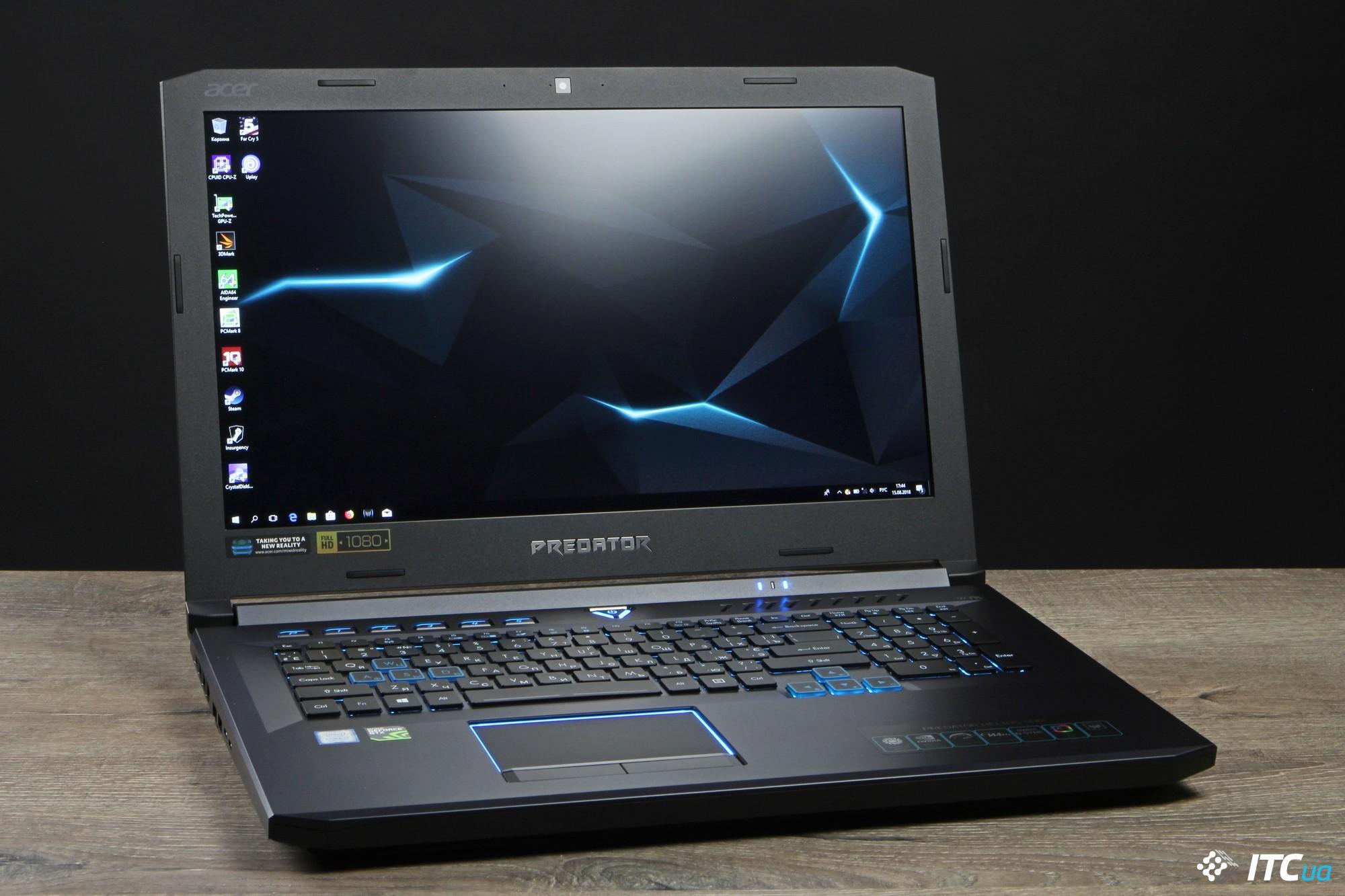 Acer Predator Helios 50 изображение 2