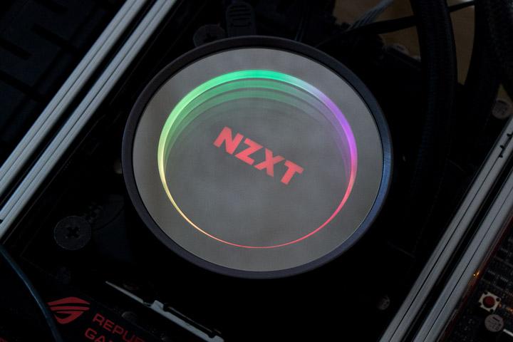 NZXT Kraken X72 подсветка