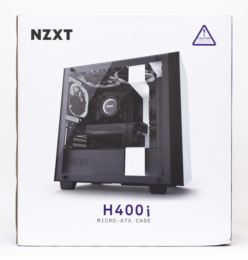 NZXT H400i упаковка