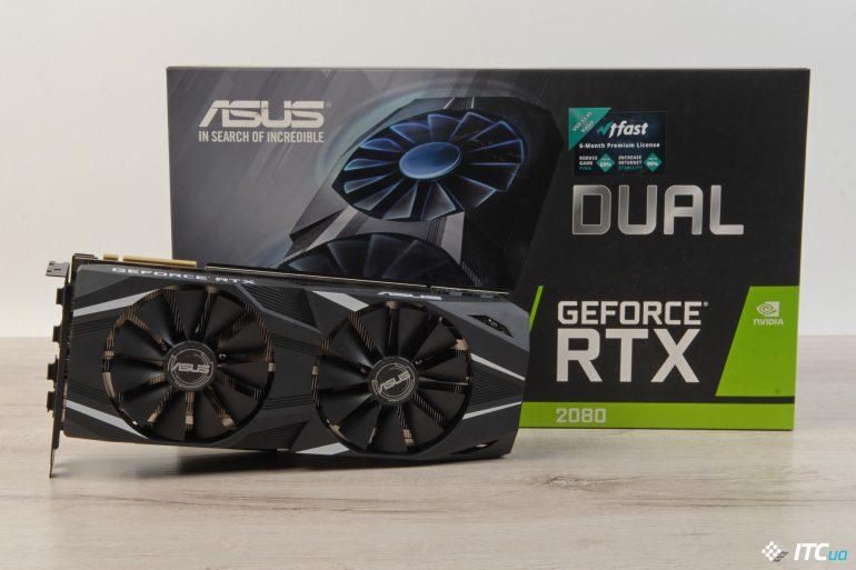 NVIDIA GeForce RTX 2080 упаковка