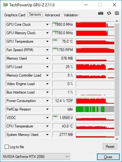 NVIDIA GeForce RTX 2080 В работе фото 2