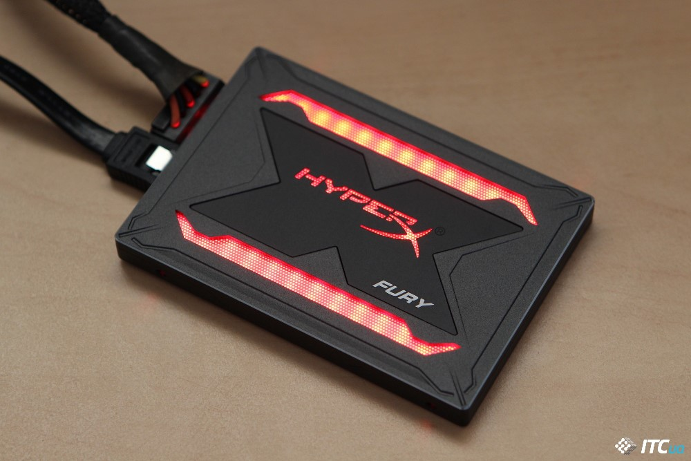 HyperX Fury RGB подсветка фото 1