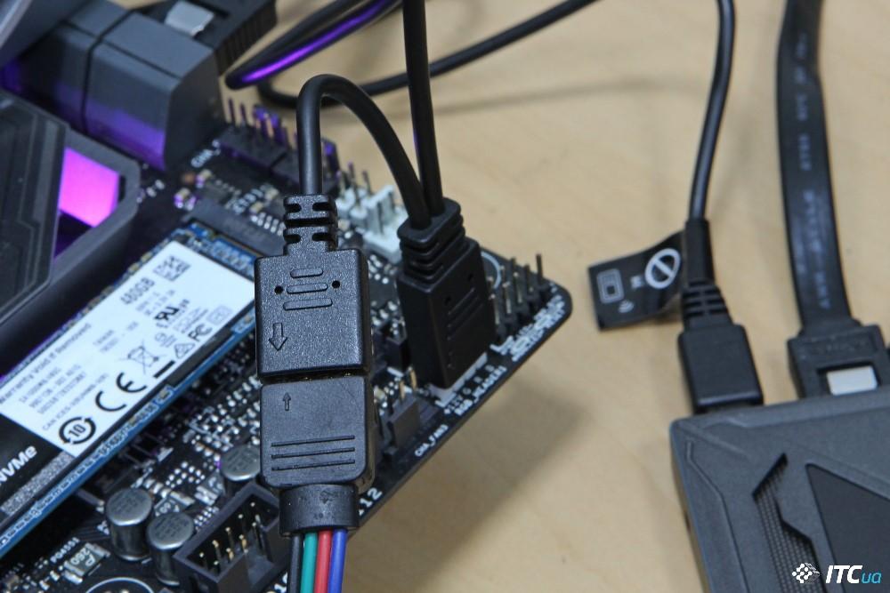 HyperX Fury RGB подключение фото 2