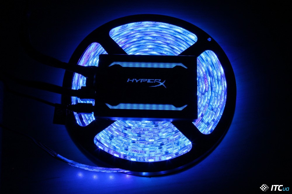 HyperX Fury RGB подсветка фото 2