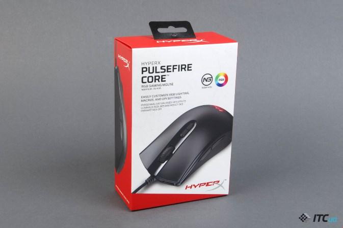 HyperX Pulsefire Core упаковка