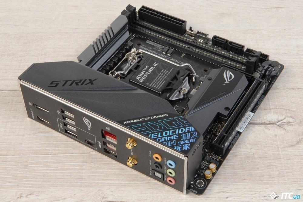 ASUS ROG STRIX Z390-I GAMING фото 2