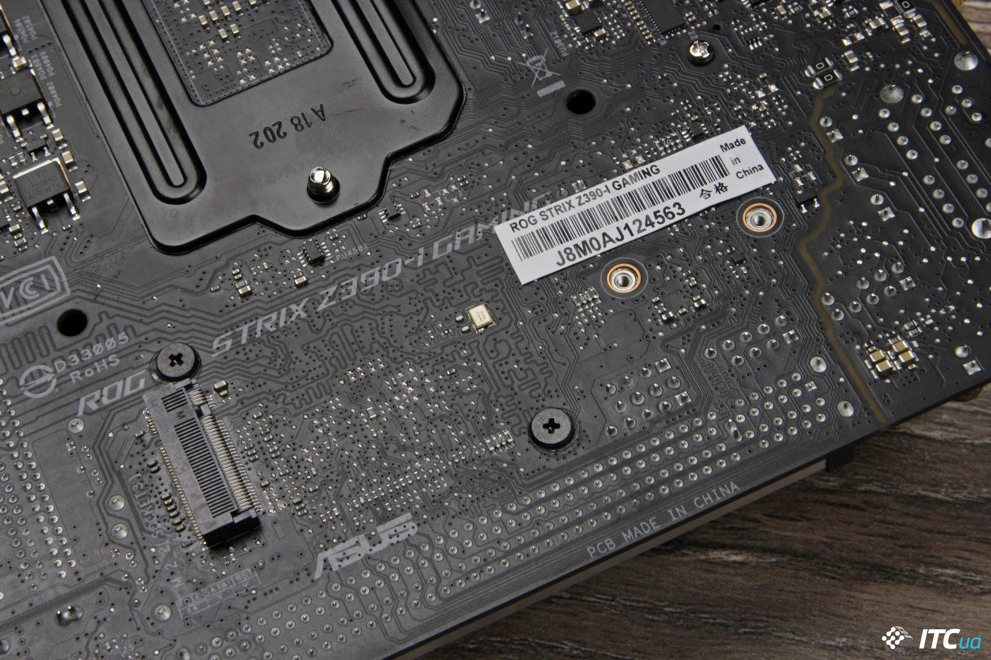ASUS ROG STRIX Z390-I GAMING фото 13