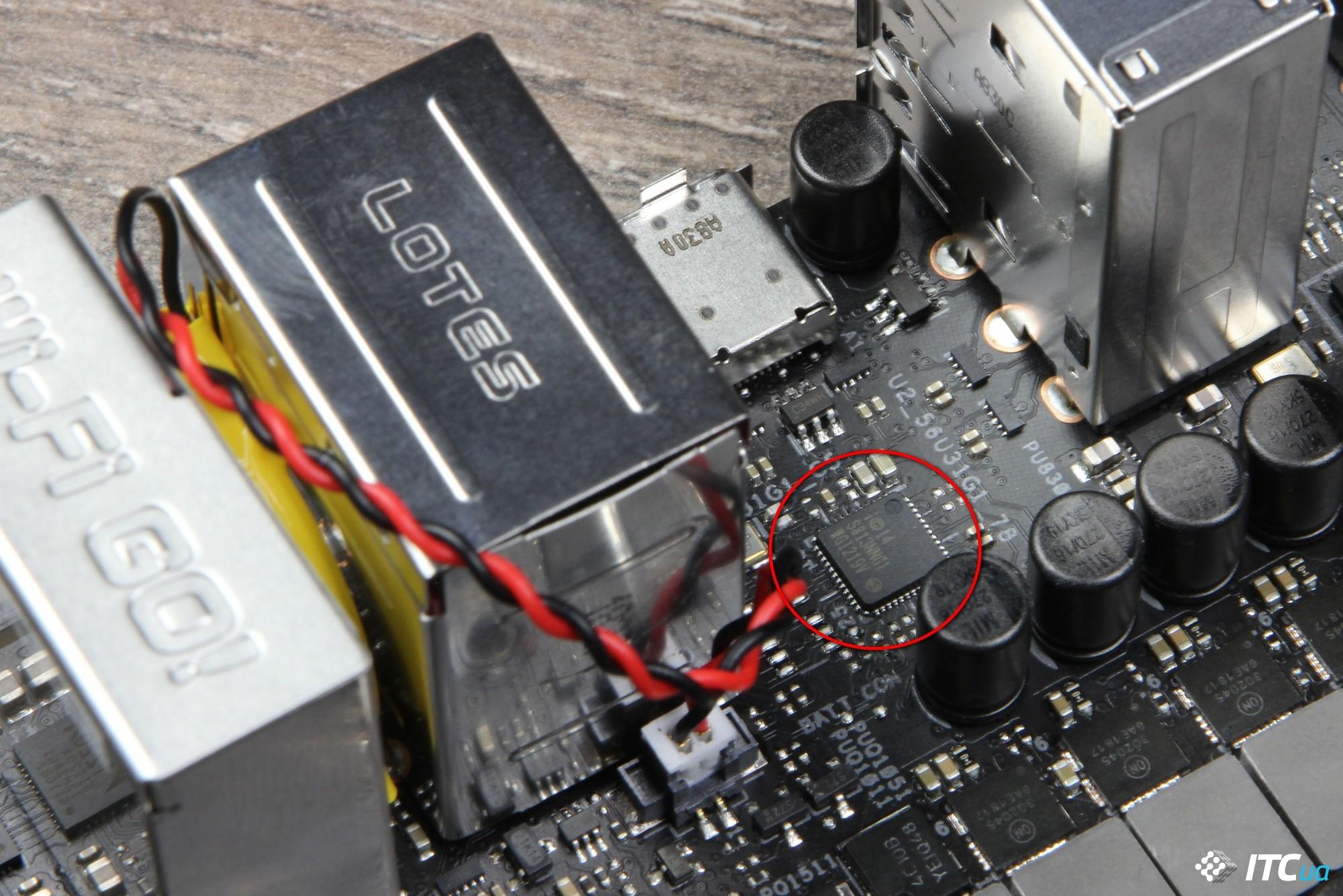 ASUS ROG STRIX Z390-I GAMING фото 14