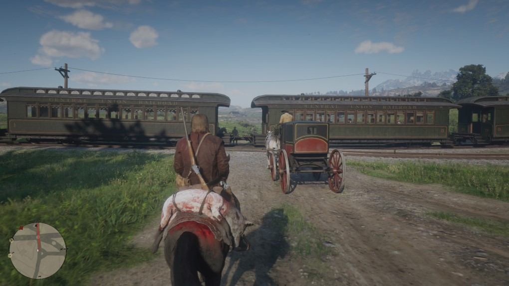 Red Dead Redemption 2 скриншот 22