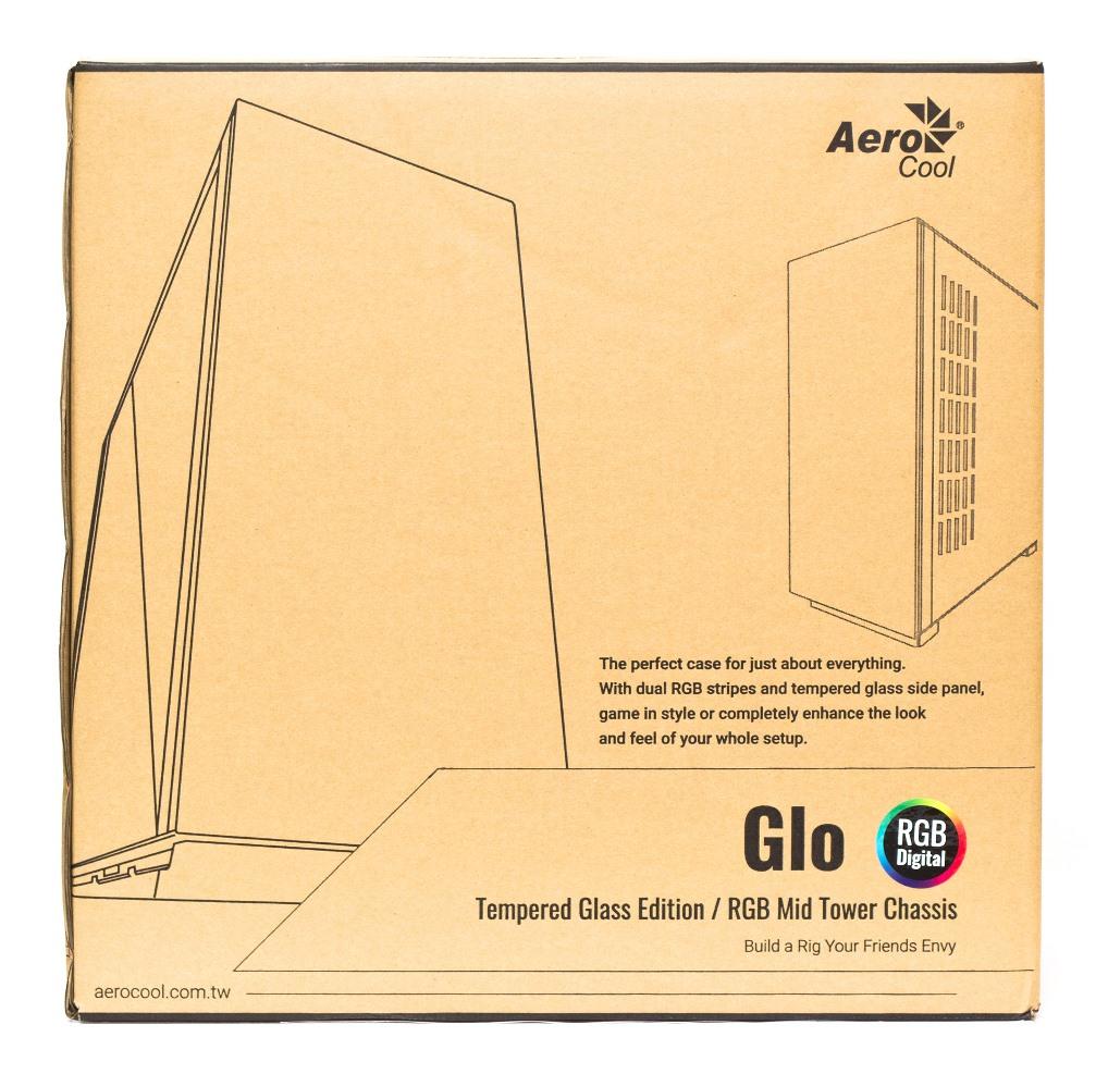 Aerocool Glo упаковка
