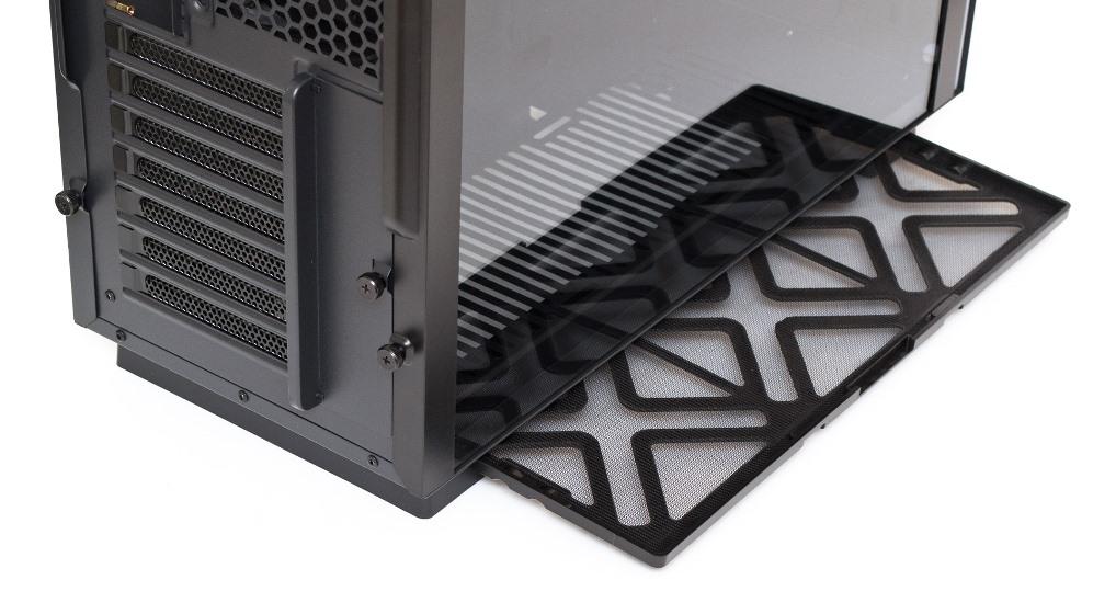 Aerocool Glo извлечение пылевого фильтра