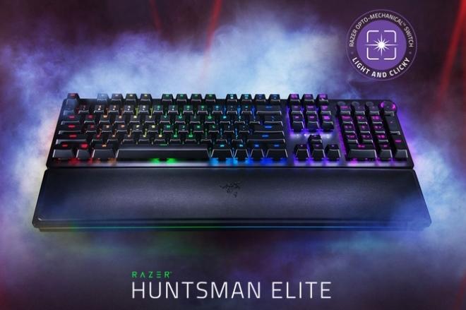 Обзор игровой механической клавиатуры Razer Huntsman Elite