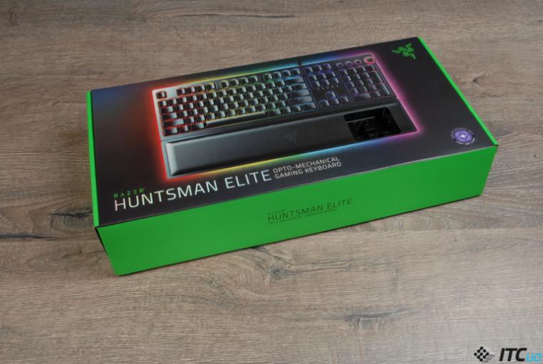 Razer Huntsman Elite упаковка