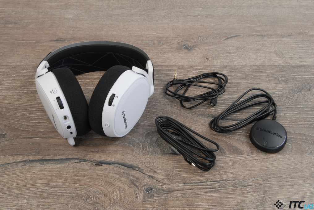 SteelSeries Arctis 7 комплектация