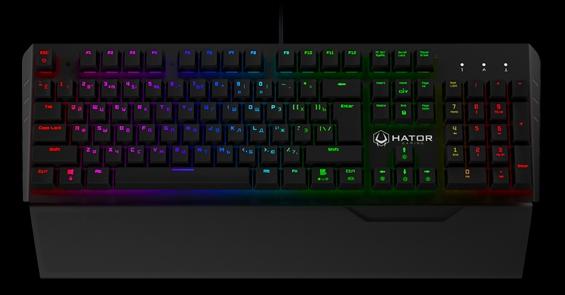 Обзор игровой механической клавиатуры Hator Earthquake