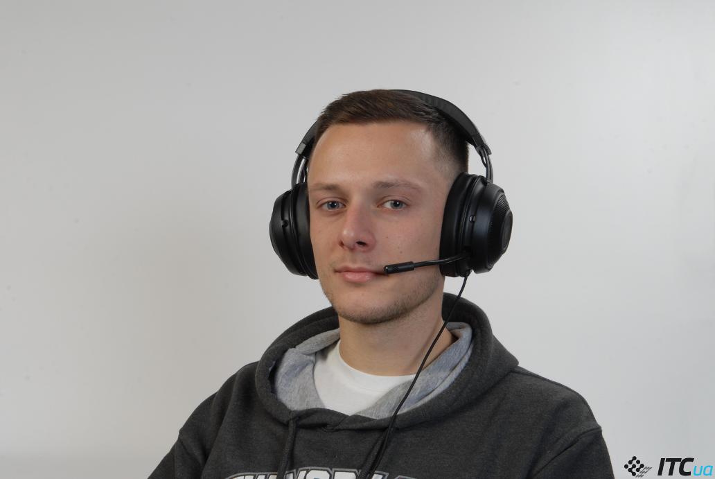 Razer Kraken Tournament Edition в использовании