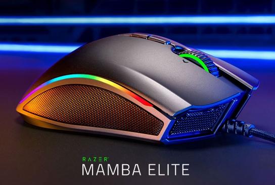 Обзор игровой мыши Razer Mamba Elite