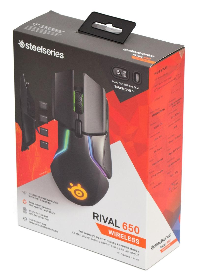SteelSeries Rival 650 упаковка
