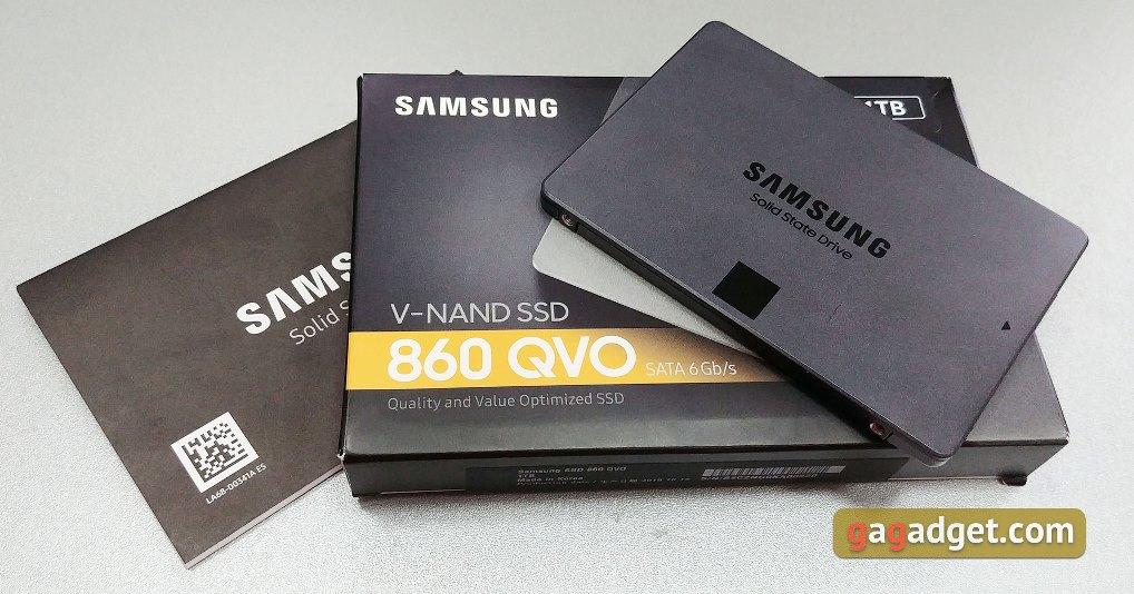 Samsung SSD 860 QVO фото 4