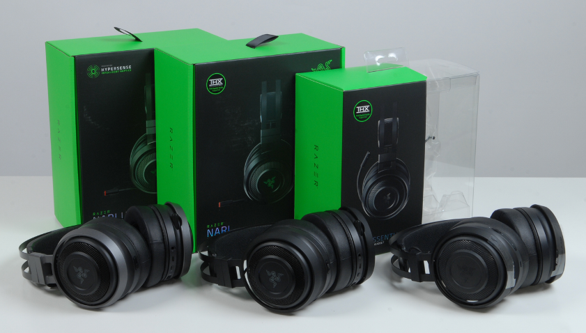 Обзор линейки игровых гарнитур Razer Nari THX, Hypersense и RGB