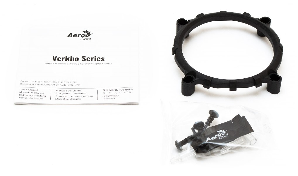 Aerocool Verkho 2 Plus комплектация