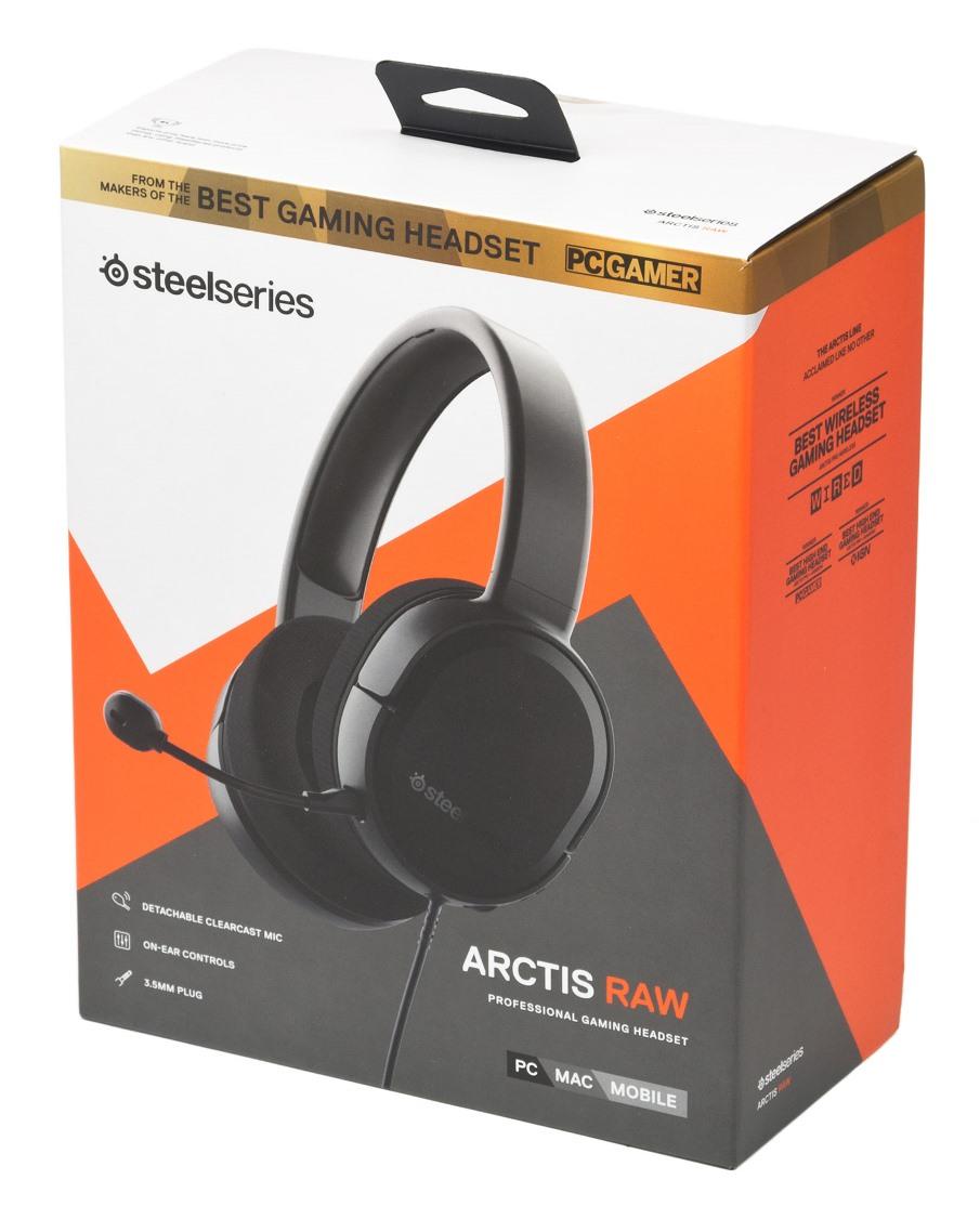 Steelseries Arctis Raw упаковка