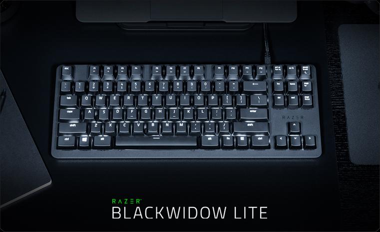 Обзор механической клавиатуры Razer BlackWidow Lite