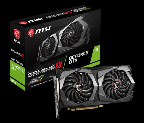 Обзор и тестирование видеокарты MSI GeForce GTX 1650 Gaming X