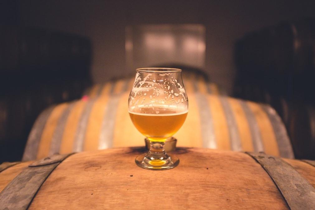 Пиво и бокал