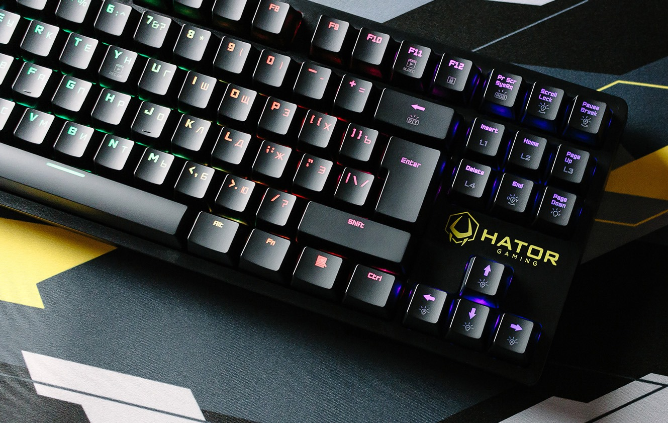 Обзор клавиатуры Hator Rockfall TKL