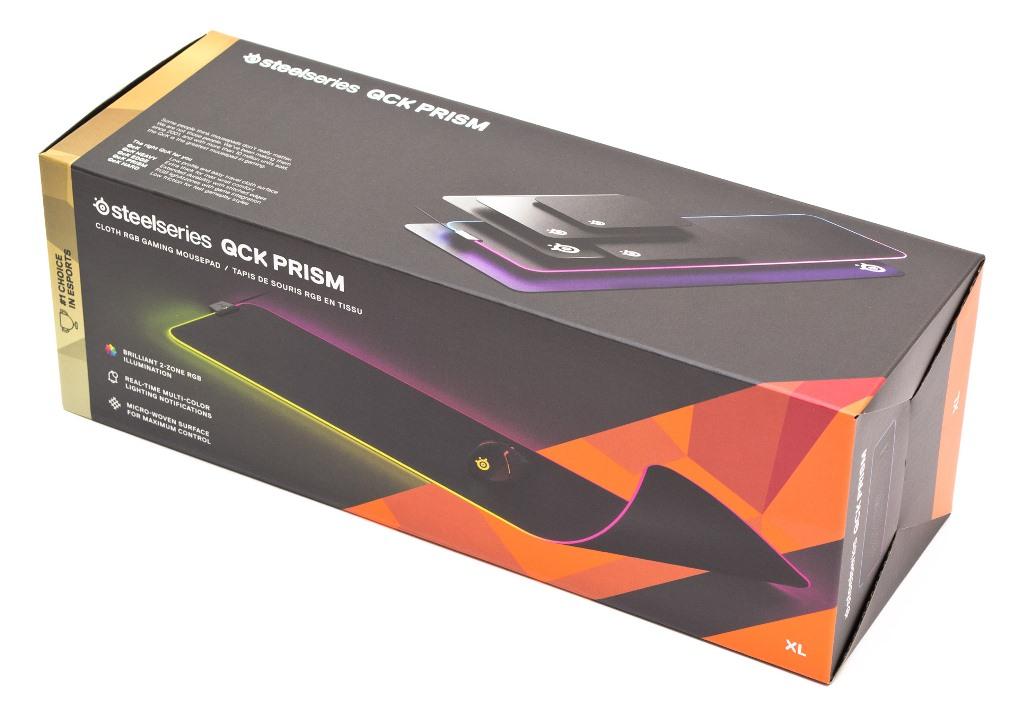 SteelSeries QcK Prism Cloth XL упаковка