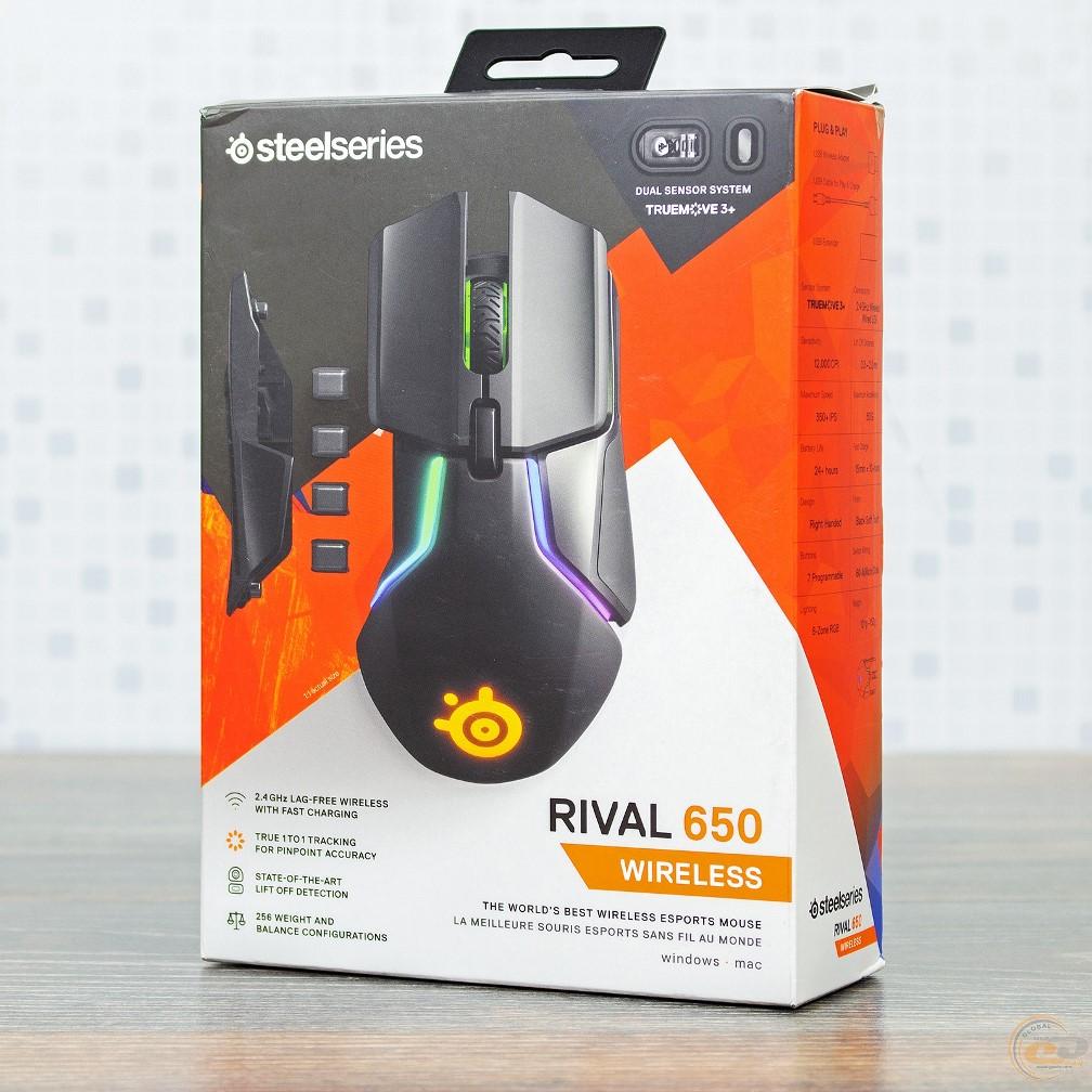 SteelSeries Rival 650 Wireless упаковка