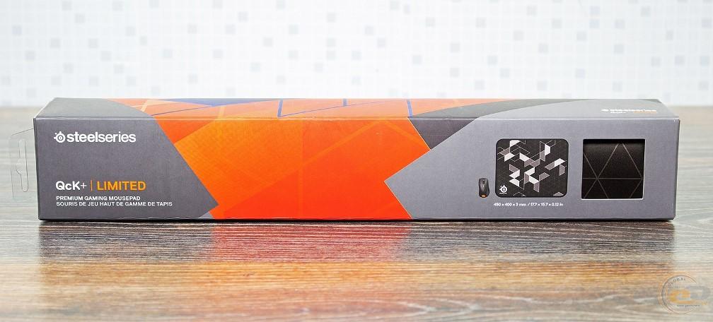 SteelSeries QcK+ Limited упаковка