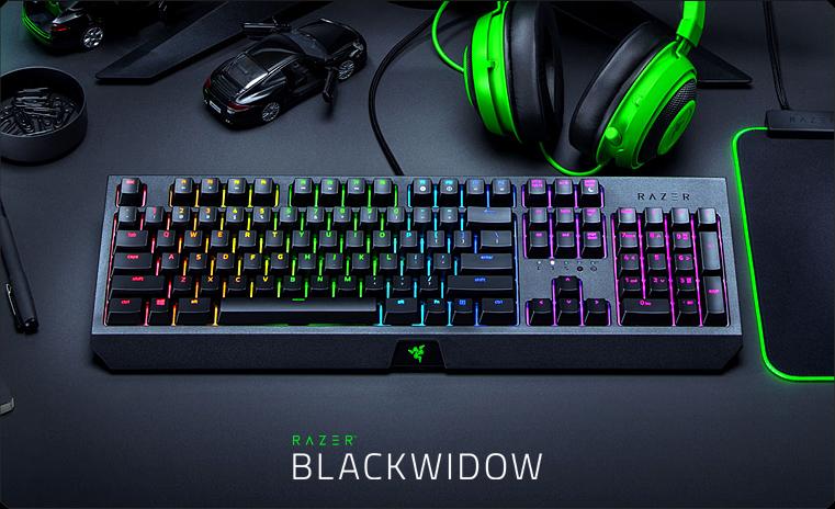 Обзор механической игровой клавиатуры Razer BlackWidow